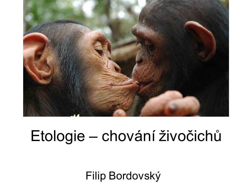 Etologie – chování živočichů Filip Bordovský