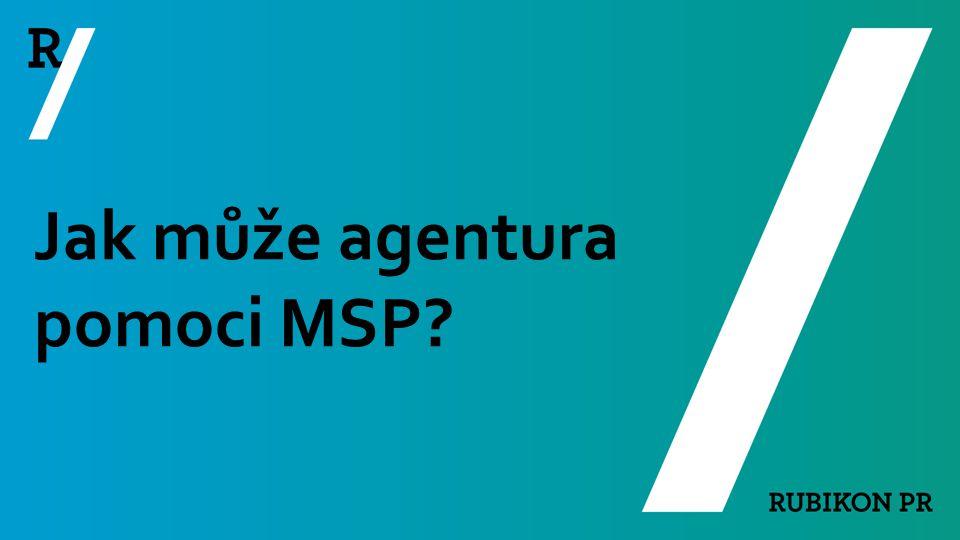 Jak může agentura pomoci MSP?