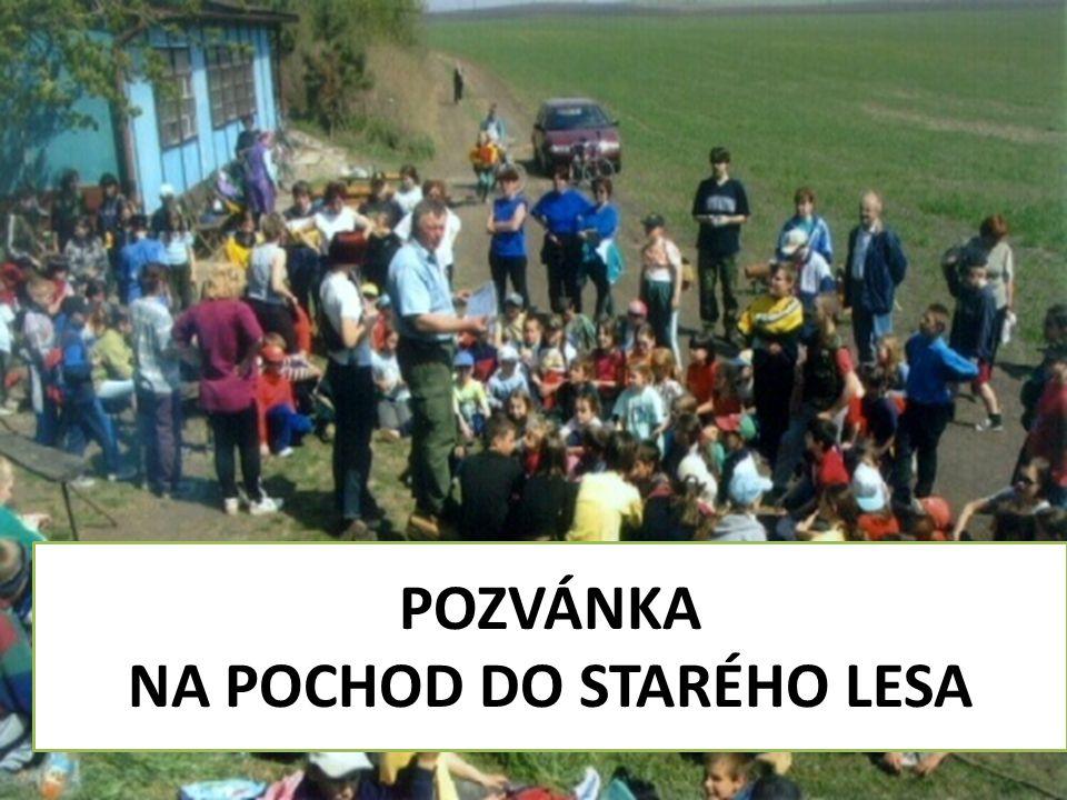 TJ SOKOL Žatčany zve všechny děti na 17.ročník tradičního POCHODU DO STARÉHO LESA sobotu 25.