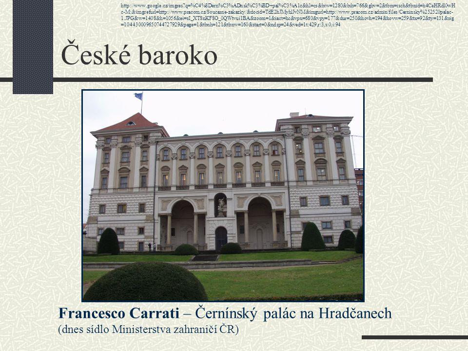 České baroko Rodina DIEZENHOFER z Bavor malostranský chrám sv.