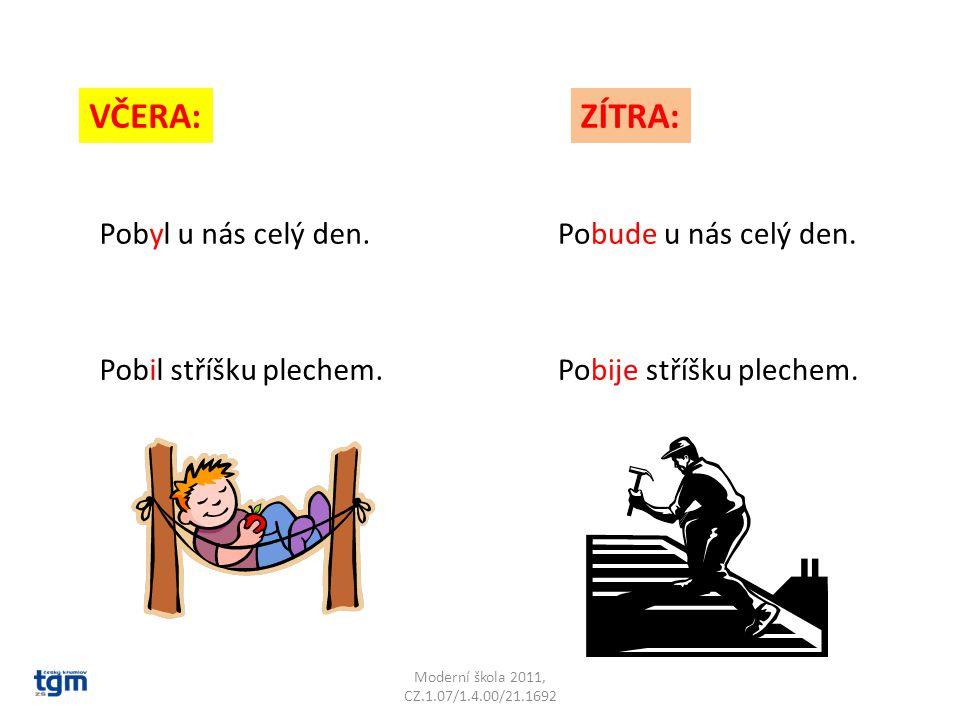 Moderní škola 2011, CZ.1.07/1.4.00/21.1692 VČERA:ZÍTRA: Nabyl velké síly.