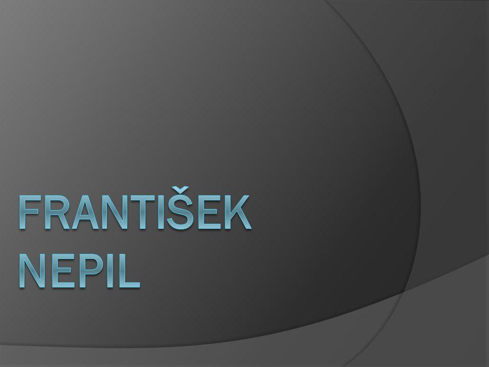 Metodické pokyny -DUM přináší základní informace o životě a díle spisovatele Františka Nepila - slide č.