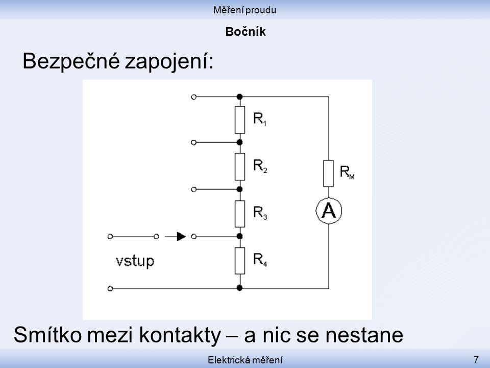 Měření proudu Elektrická měření 8 Multimeter tutorial https://www.youtube.com/watch?v=bF3OyQ3HwfU&feature=em-subs_digest-vrecs
