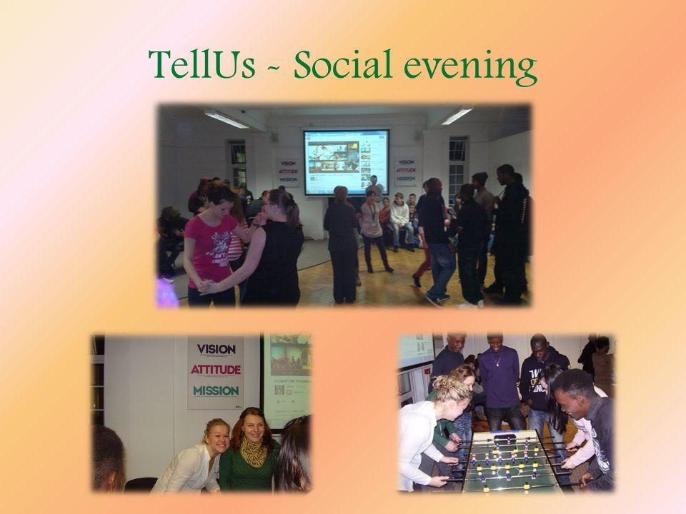 TellUs - Social evening