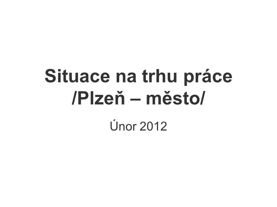 Situace na trhu práce /Plzeň – město/ Únor 2012