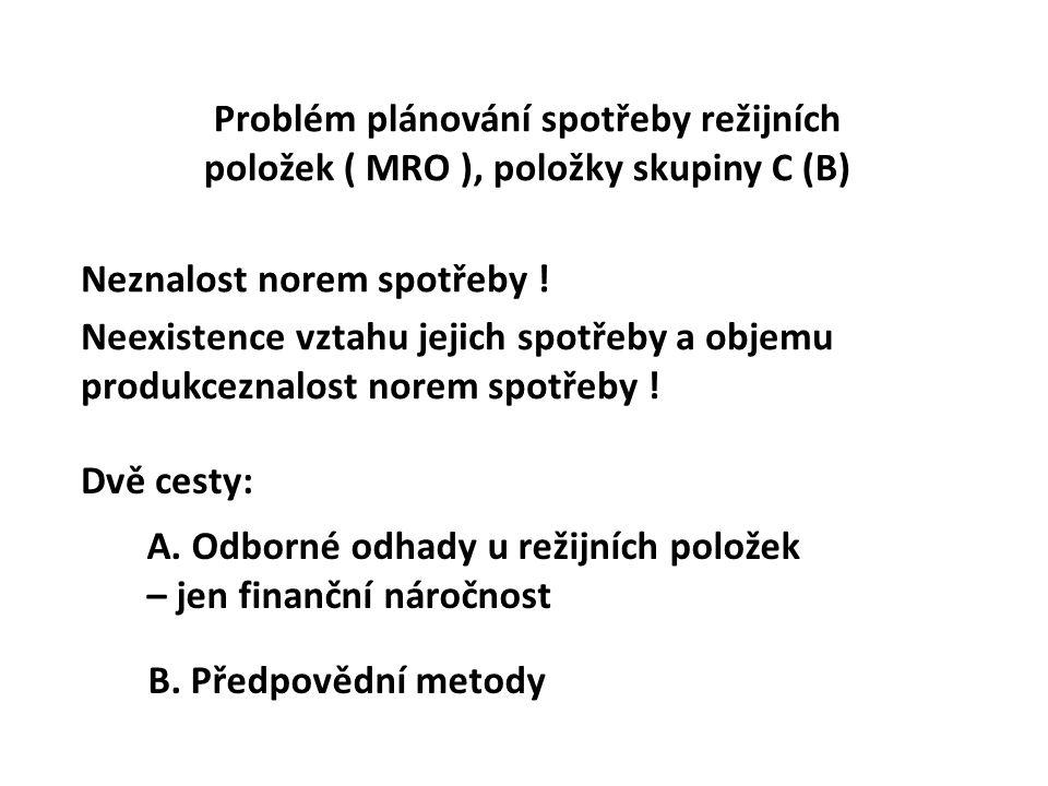 Ústav ekonomiky a řízení chemického a potravinářského průmyslu VŠCHT Praha A.