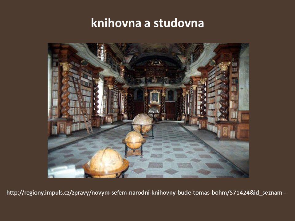 knihovna a studovna http://regiony.impuls.cz/zpravy/novym-sefem-narodni-knihovny-bude-tomas-bohm/571424&id_seznam=