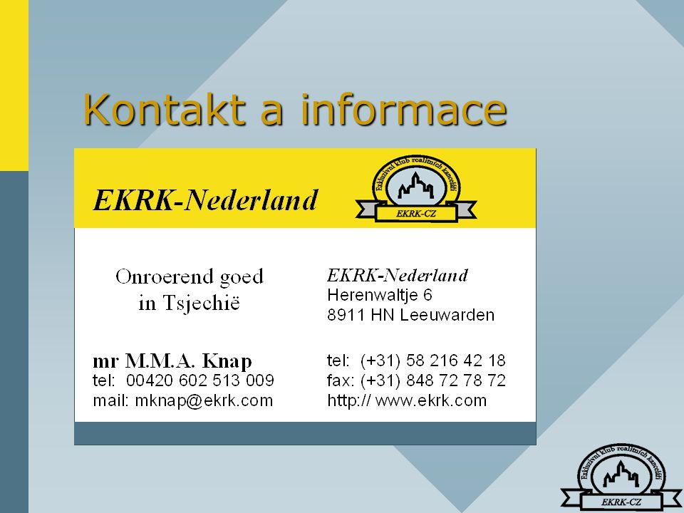 Kontakt a informace