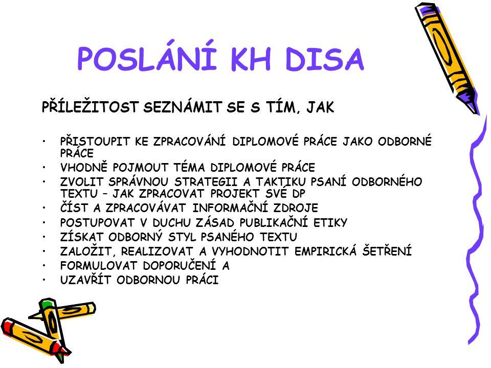 PROJEKT DIPLOMOVÉ PRÁCE 4.