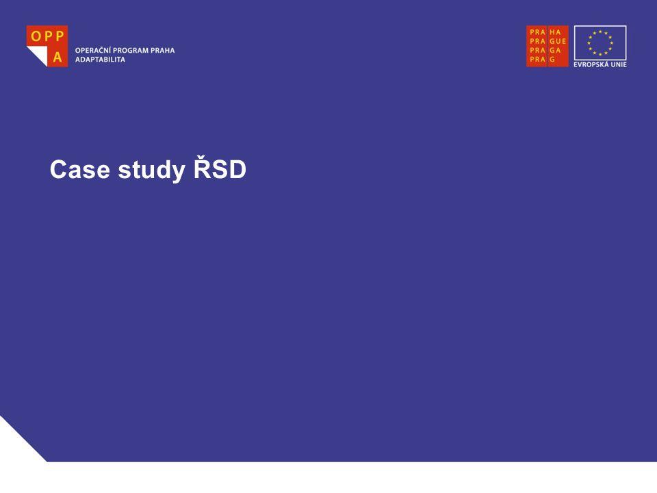Case study ŘSD