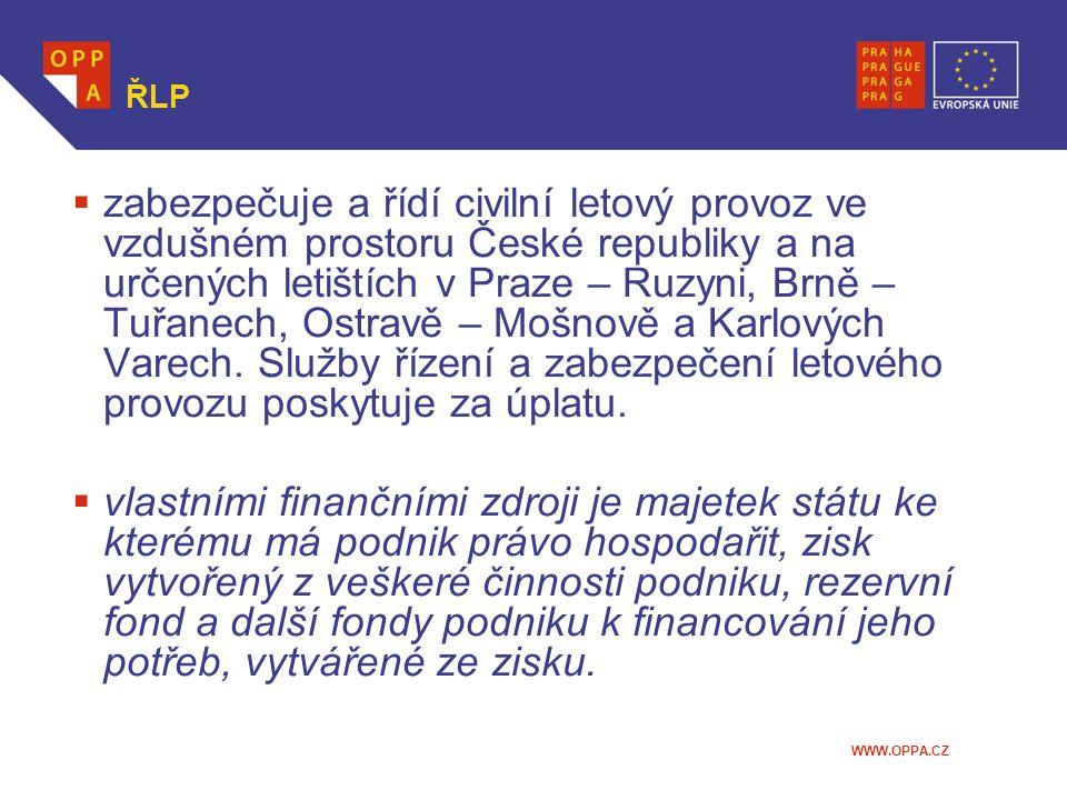 WWW.OPPA.CZ Správa Letiště Praha  vláda usnesením ze dne 2.