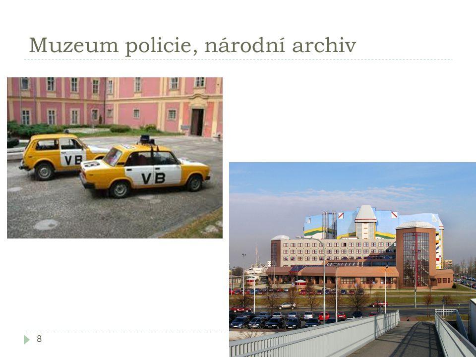 Muzeum policie, národní archiv 8