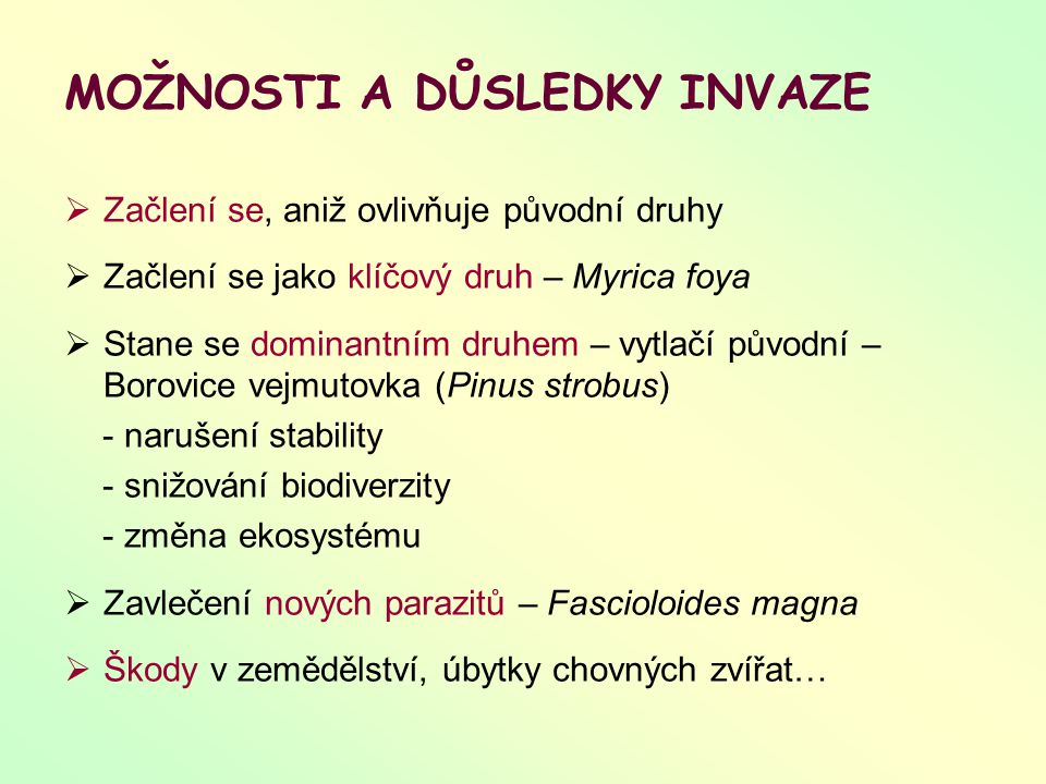 LITERATURA Úvod do současné ekologie: Storch D., Mihulka S.