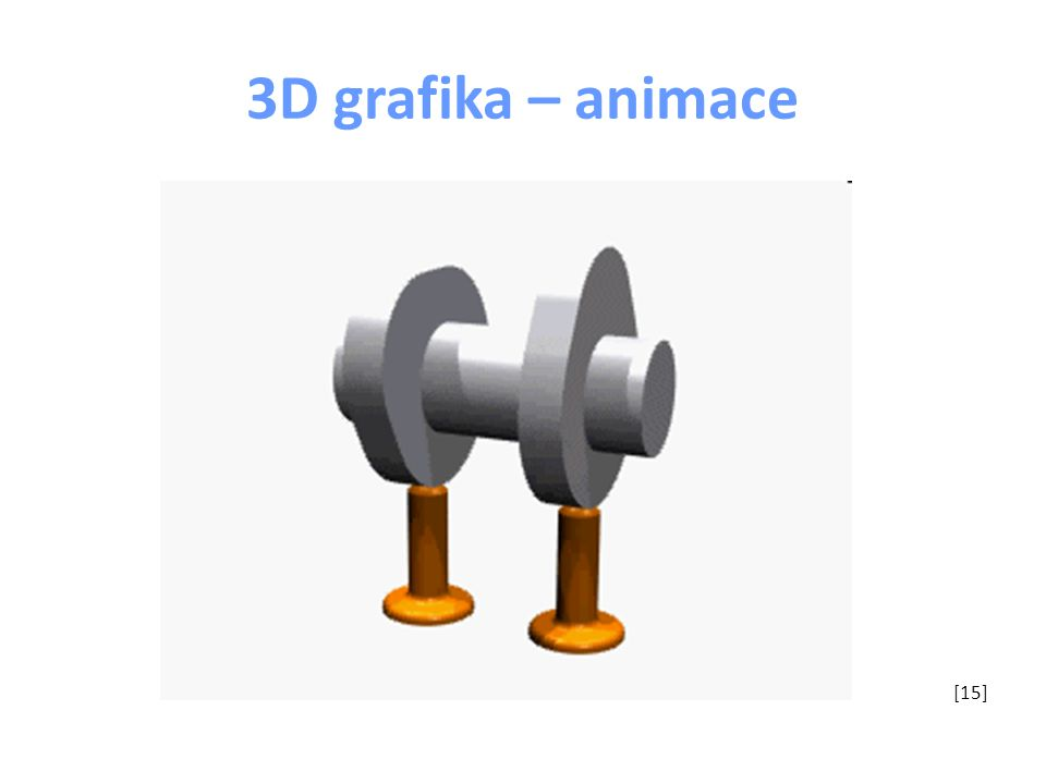 3D grafika – animace [15]