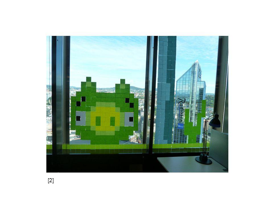 Bitmapová (rastrová) grafika obrázek popsán pomocí jednotlivých barevných bodů – pixelů body uspořádány do pravoúhlé mřížky (rastru) každý bod určen polohou v mřížce a barvou příklad – digitální fotografie, mozaika, …