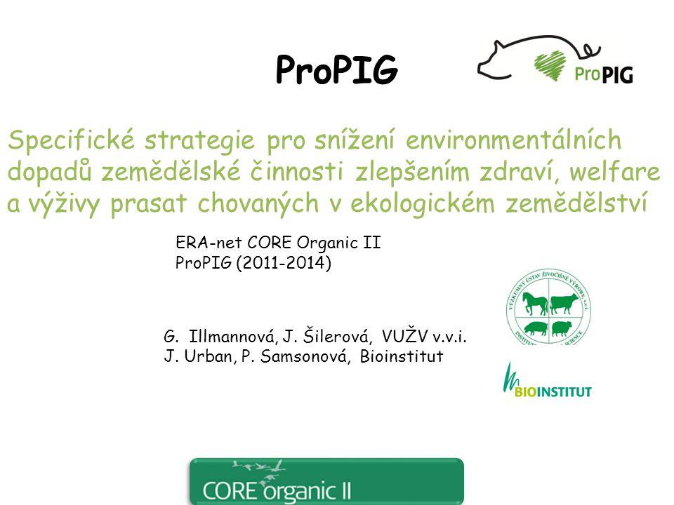 Cíle projektu:  Zkoumat vztahy mezi zdravím, welfare a výživou zvířat a jejich dopady na kvalitou životního prostředí  navrhnout úpravu managementu pro omezení negativního dopadu ekologického zemědělství na životní prostředí  zveřejnit získané poznatky 10.7.2012
