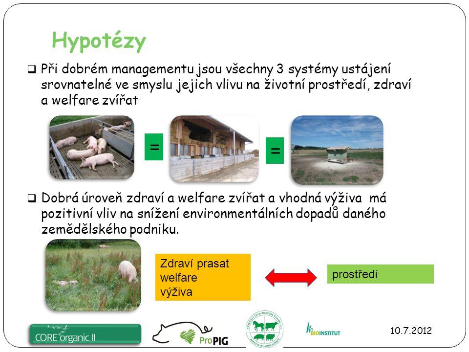 WP1: Definování systémů ustájení, vývoj protokolů hodnotících zdraví a welfare zvířat a vliv na životní prostředí  Vývoj protokolů pro hodnocení (2 pracovní skupiny) 1.
