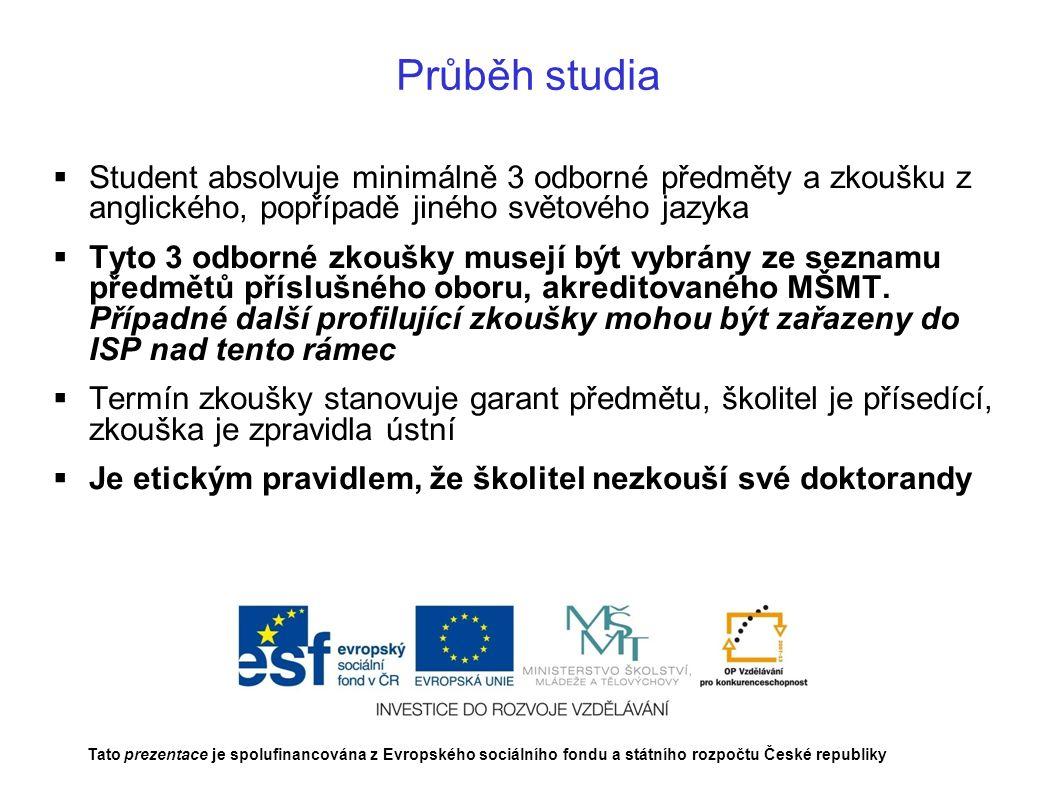 Děkuji za pozornost Excelence doktorského studia na AF MENDELU pro navazující evropskou vědecko – výzkumnou kariéru CZ.1.07/2.3.00/20.0005 Tato prezentace je spolufinancována z Evropského sociálního fondu a státního rozpočtu České republiky