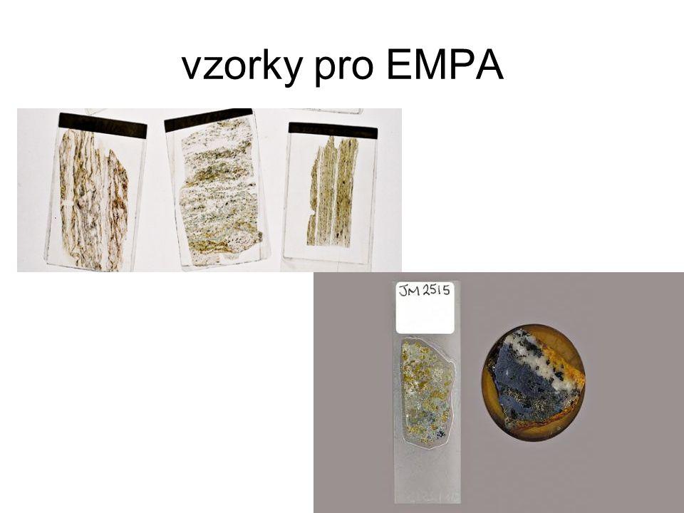 CHIME datování použitelné pro monazit, uraninit, zirkonolit měří se obsah U, Th a Pb vychází se z předpokladu, že veškeré Pb je radiogenní neměří se izotopy doba měření jedné analýzy cca 18 min chyba cca 15-70 mil let 10-20 analýz váženým průměrem lze dosáhnou chybu 5-10 Ma