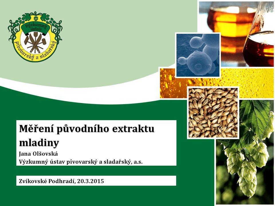Proč analyzovat pivo (suroviny, meziprodukty).