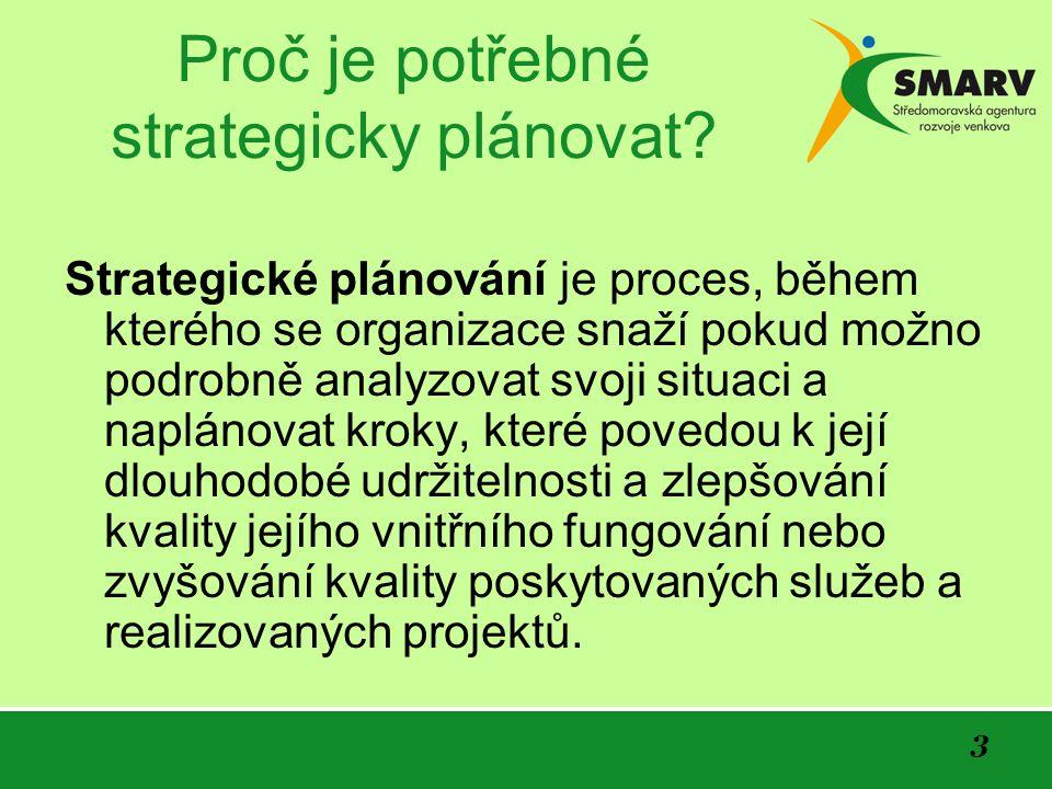 3 Proč je potřebné strategicky plánovat.