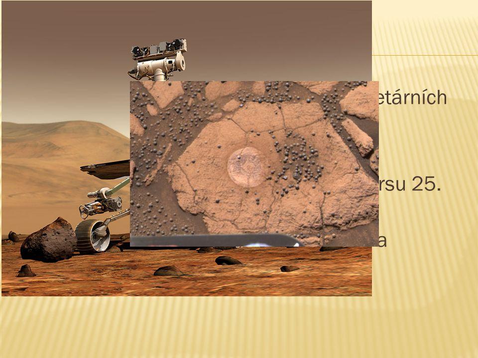  Opportunity je druhou ze dvojice planetárních sond americké agentury NASA.