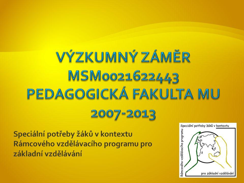  Dramatická výchova pro děti se speciálními potřebami v kontextu RVP ZV – 22.