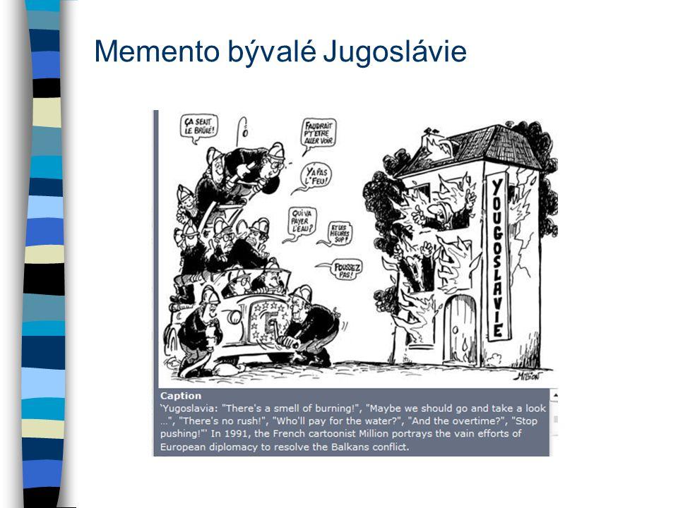 Memento bývalé Jugoslávie