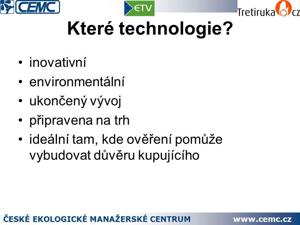 Děkuji za pozornost Ing.Evžen Ondráček http://www.tretiruka.cz/eu-etv/ ondracek@cemc.cz ČESKÉ EKOLOGICKÉ MANAŽERSKÉ CENTRUM www.cemc.cz