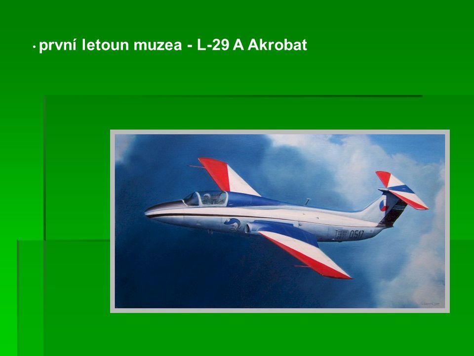 první letoun muzea - L-29 A Akrobat