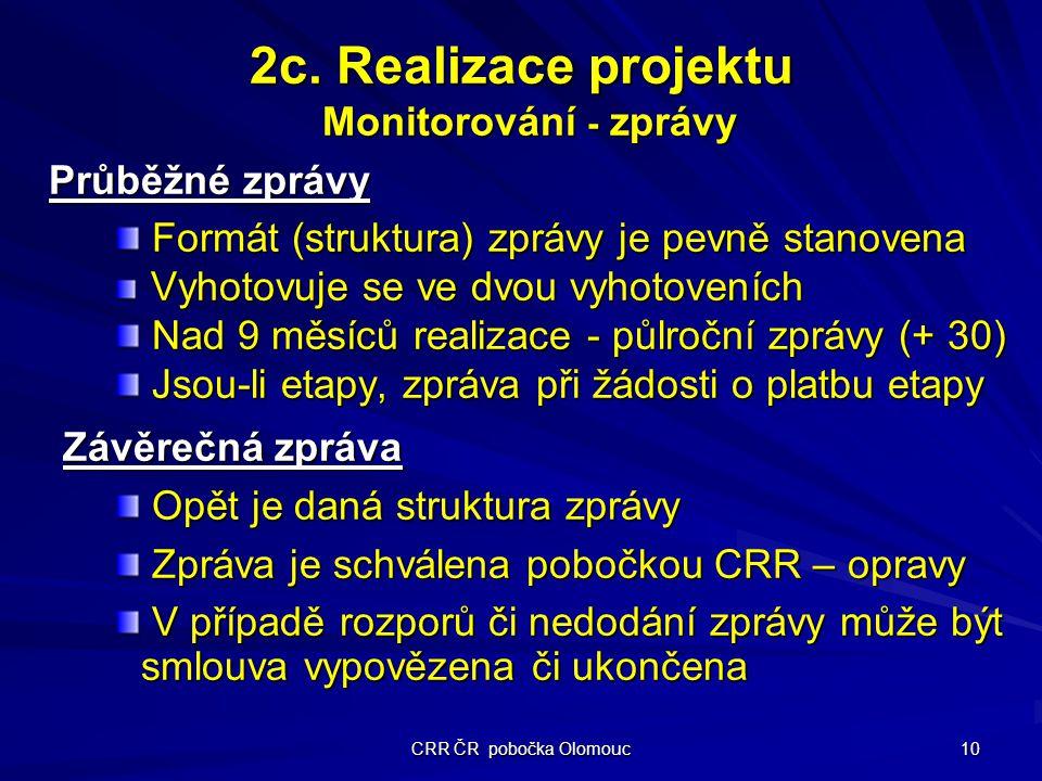 CRR ČR pobočka Olomouc 10 2c.