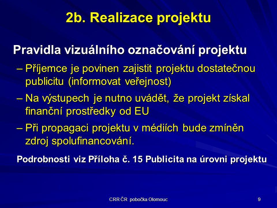 CRR ČR pobočka Olomouc 9 2b.