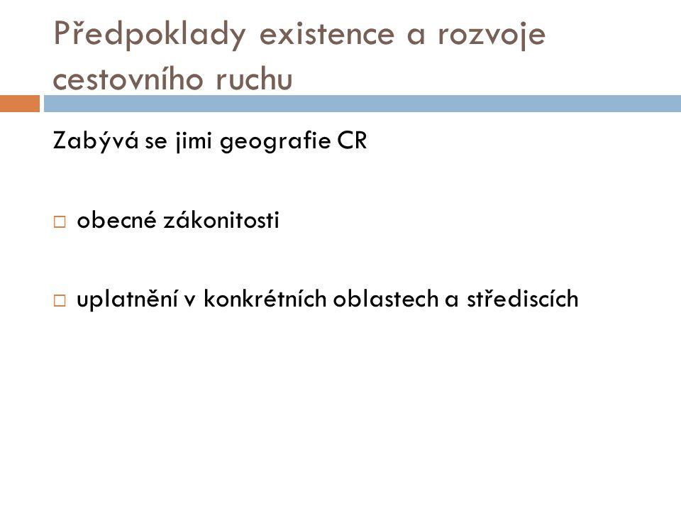 Přepoklady dělíme na:  1. Lokalizační  2. Selektivní  3. Realizační