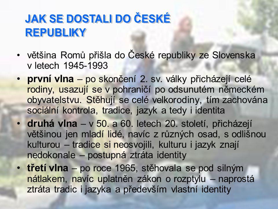Mezi tradičním způsobem života Romů a Čechů existují rozdíly, které vyplývají z rozdílného pojetí života a mohou způsobovat vzájemné nepochopení.