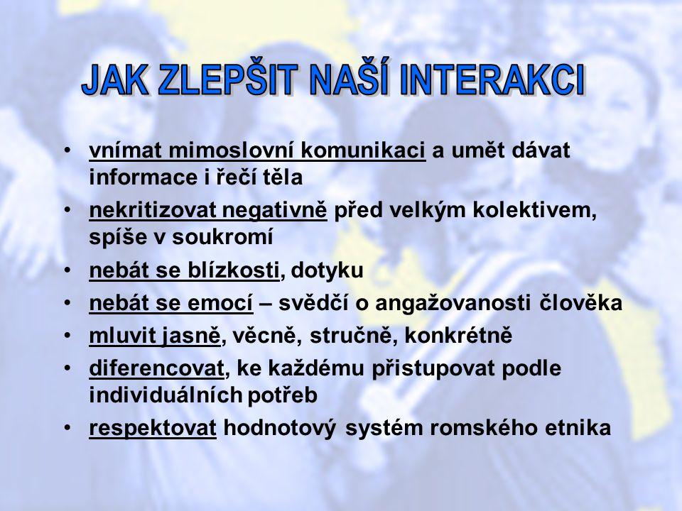 Informační zdroje: Šišková, T.Menšiny a migranti v České republice.