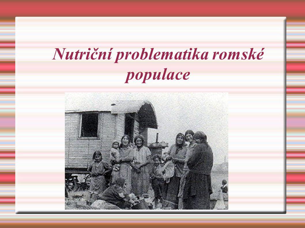 (4)HDL – cholesterol: ve všech věkových kategorií byl nižší než u majoritního obyvatelstva (5) hypertenze: systolický tlak byl výrazně vyšší u ženské romské populace Závěr: Všech pět položek svědčí o tom, že romská populace je ohrožena metabolickým syndromem http://www.vesmir.cz/clanek/sporive-geny-a-nasi-romovia Úsporný gen u Romů (Studie u romské menšiny v SR, 2005)