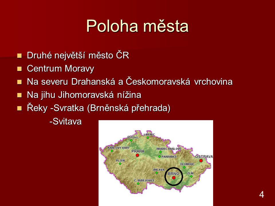 Průmysl a firmy Zetor Zetor Zbrojovka Zbrojovka Královopolská strojírna Královopolská strojírna 1.Brněnská strojírna 1.Brněnská strojírna Brno- Zetor 5