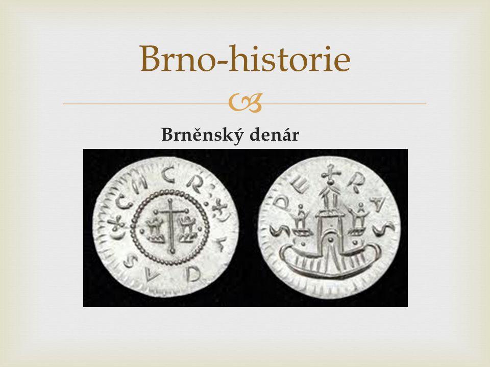 Brněnský denár Brno-historie