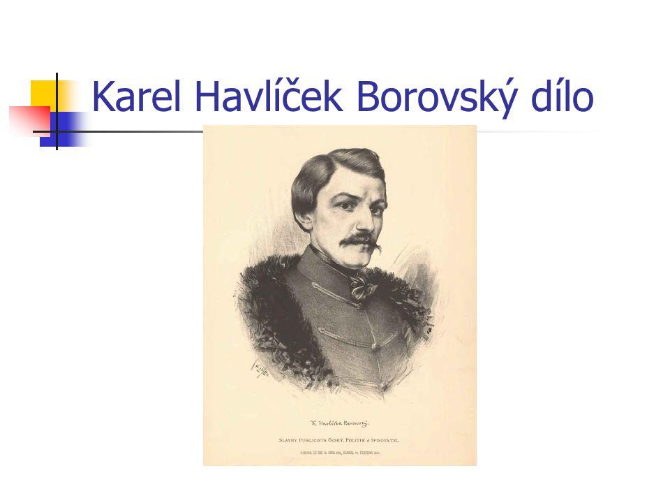 Karel Havlíček Borovský dílo