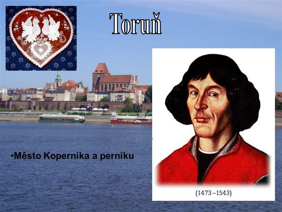Město Koperníka a perníku