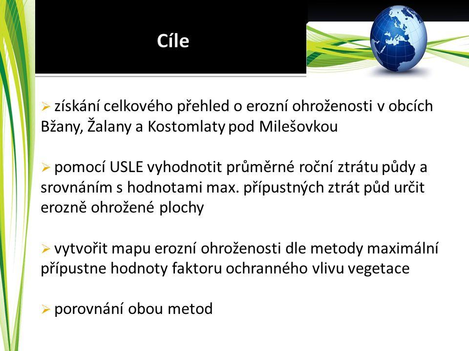 Metody USLE a C p Obce: Bžany, Žalany, Kostomlaty pod Milešovkou Bc. Jiří Brychta UJEP, FŽP www.gisservices.eu GIS services Reliably and guality