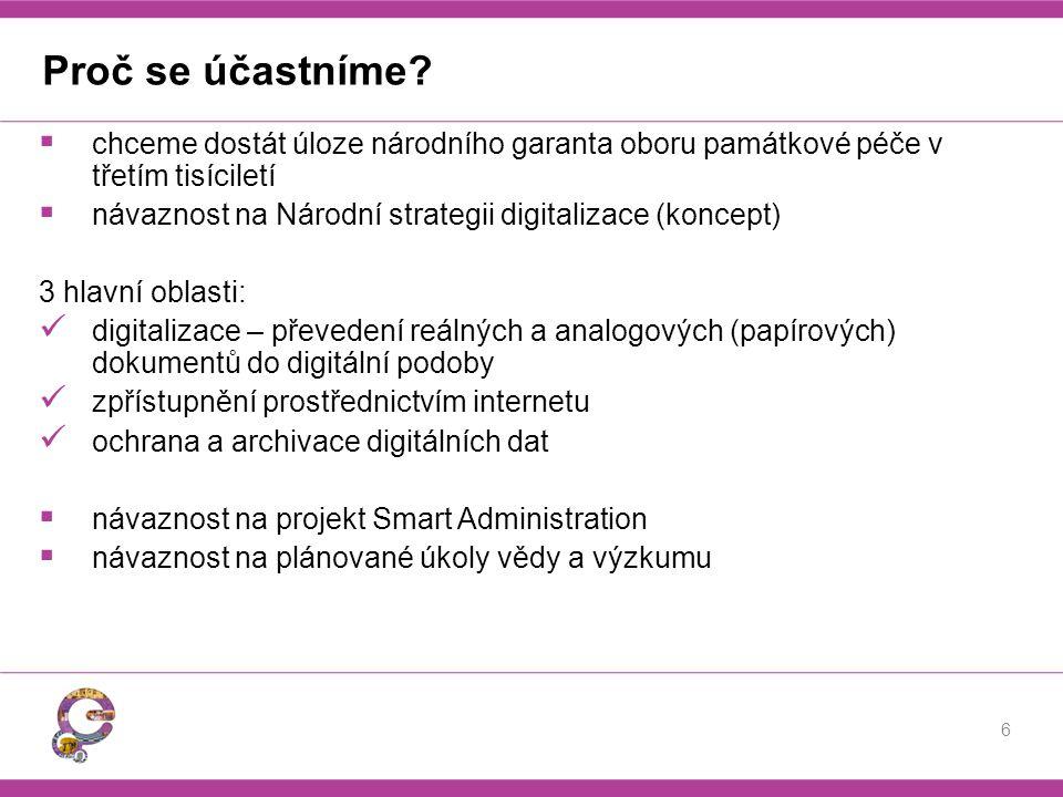 IOP Zásadní možnost financování digitalizace v ČR představuje Integrovaný operační program (IOP).