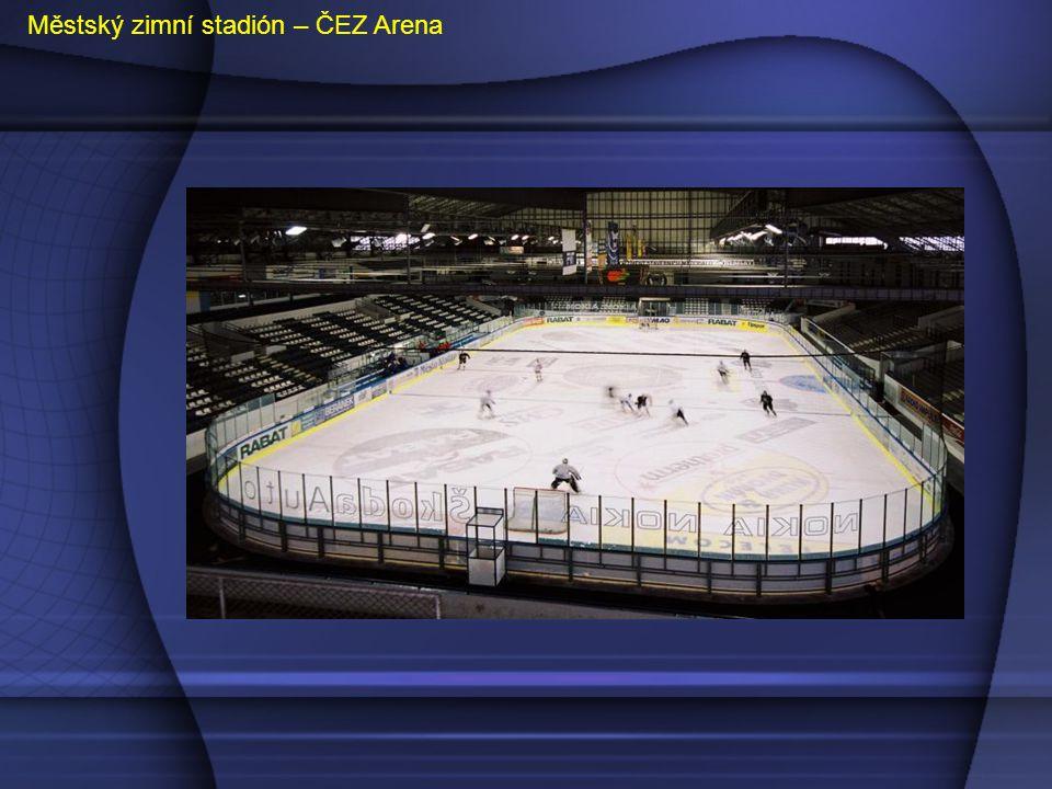 Městský zimní stadión – ČEZ Arena