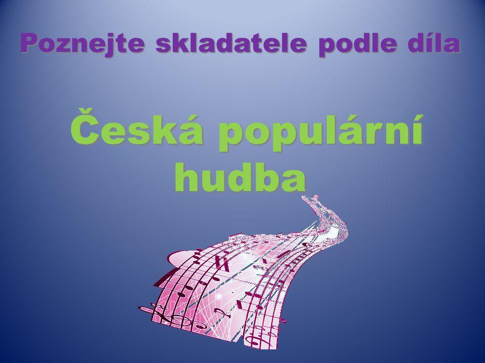 Název šablony: Inovace v HV 32/Hv09/20.4.2013 Zbíral Vzdělávací oblast: Umění a kultura Název výukového materiálu: Historie české populární hudby Auto