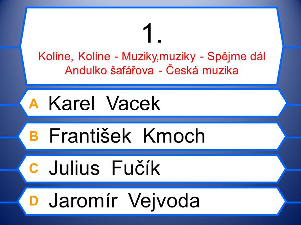 Poznejte skladatele podle díla Česká populární hudba