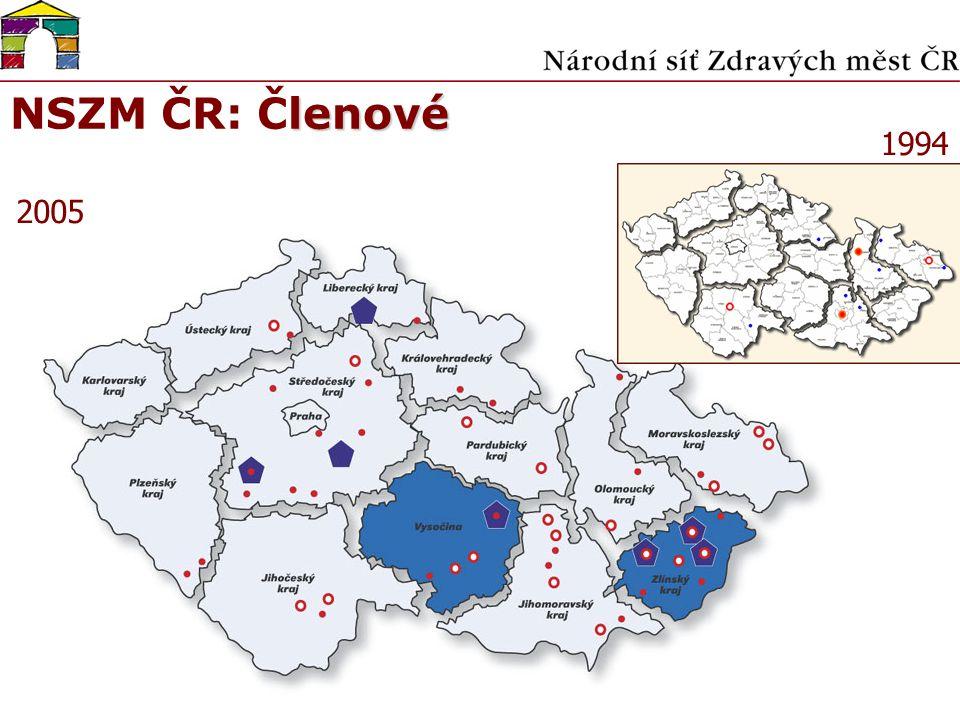 lenové NSZM ČR: Členové 1994 2005