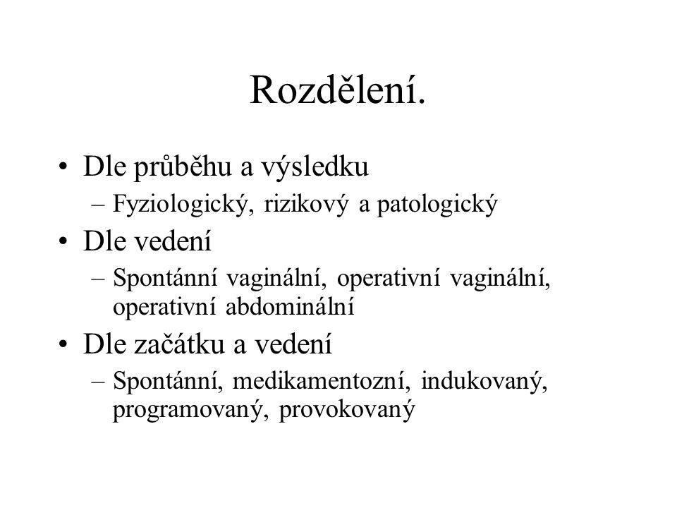 Episiotomie.