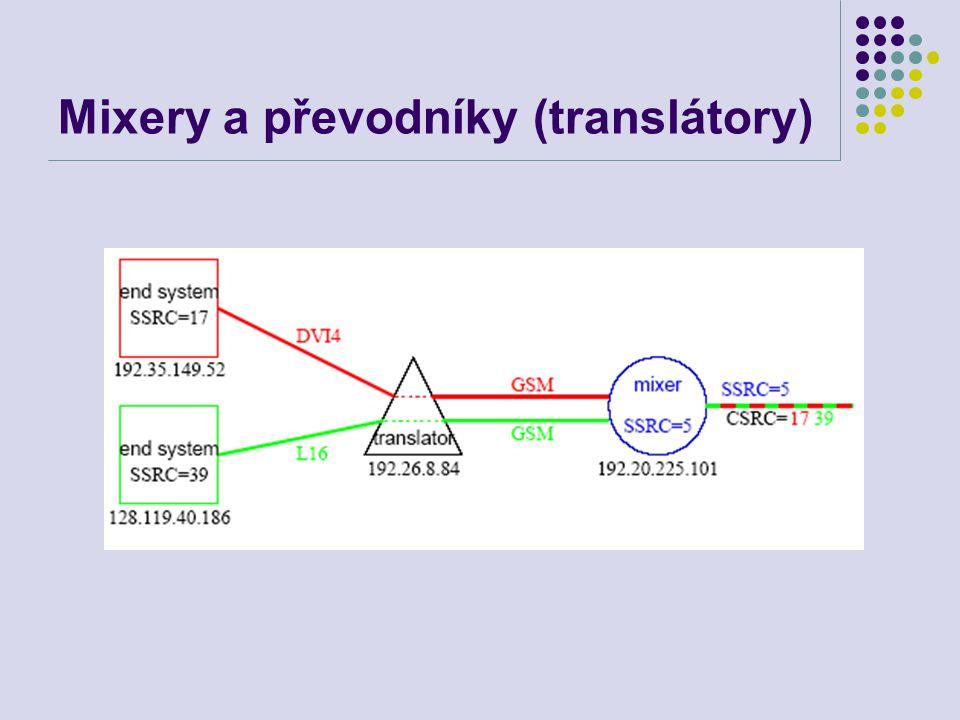 Mixery a převodníky (translátory)