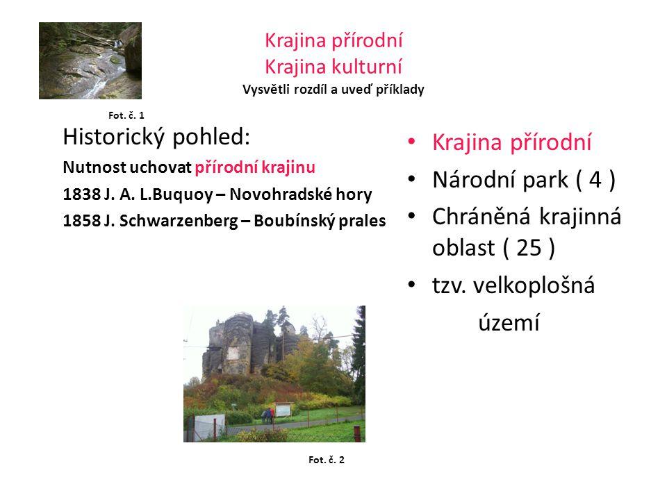 Národní park Krkonošský národní park KRNAP NP Šumava NP Podyjí NP České Švýcarsko Lednicko - valtický areál - památka UNESCO Fot.