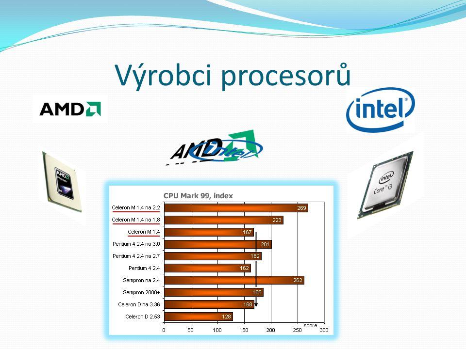Výrobci procesorů